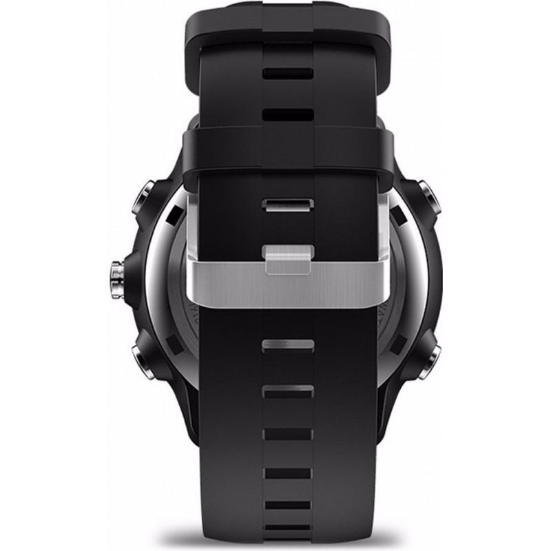 Гибридные умные часы Zeblaze VIBE 4 HYBRID с повышенной автономностью (Черный)