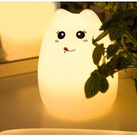 Силиконовый LED ночник-лампа