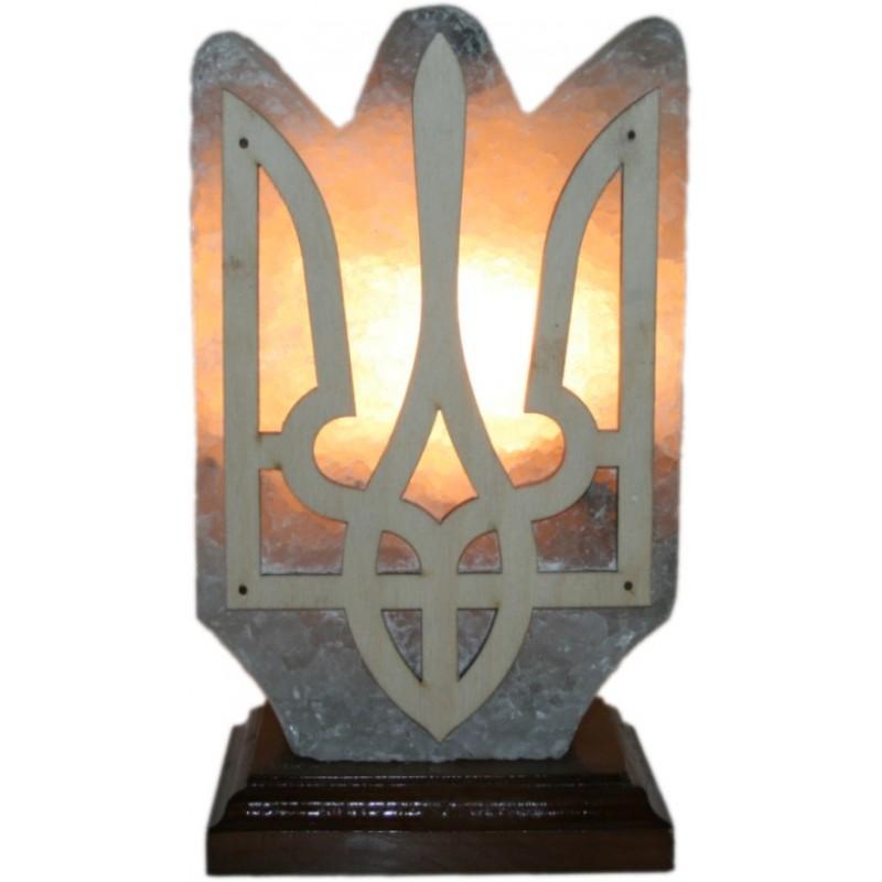 Соляная лампа ГЕРБ Украины (трезубец)