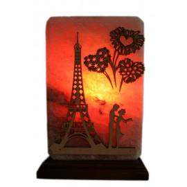 Соляная лампа Панно Париж