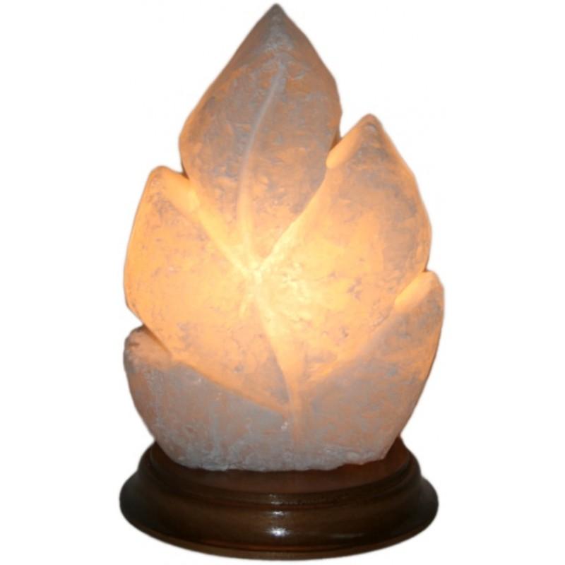 Соляна лампа ЛИСТ різьблений
