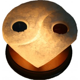 Соляна лампа-підсвічник ІНЬ-ЯНЬ