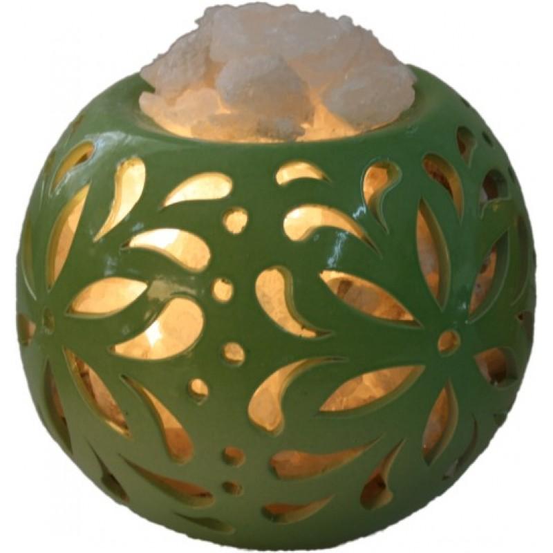 Соляна лампа Флора куля