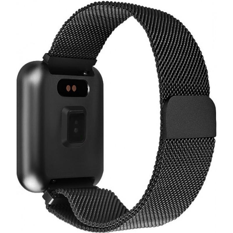 Умные смарт часы Lemfo P68 с измерением давления и влагозащитой IP68 (Черный)