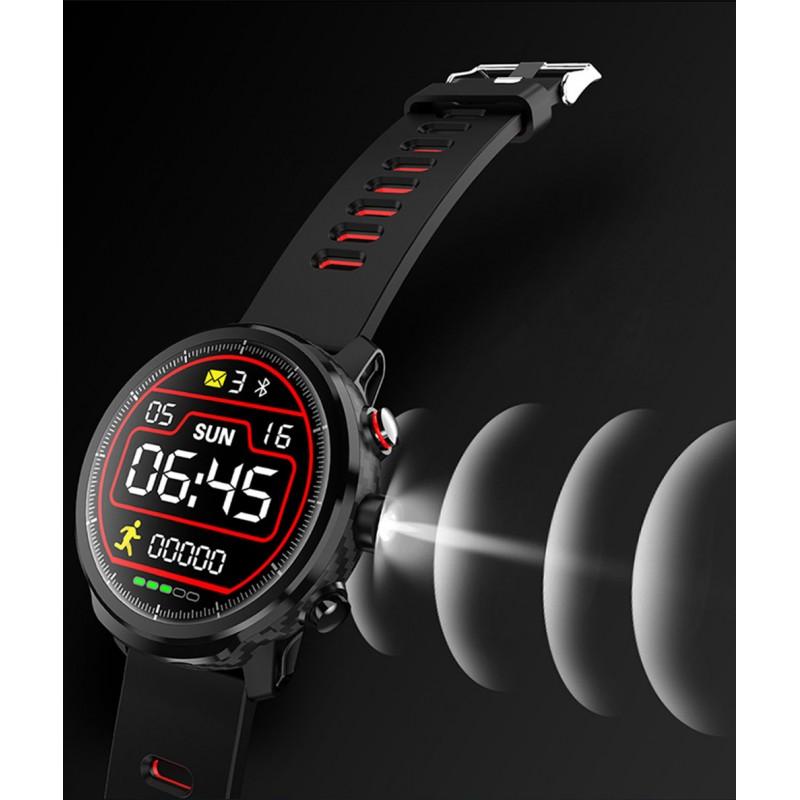 Умные часы Blaze Light со спортивными режимами и влагозащитой (Красный)