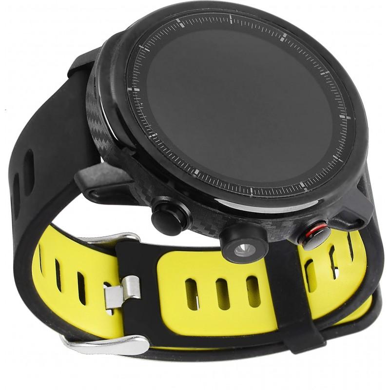 Умные часы Blaze Light со спортивными режимами и влагозащитой (Черно-зеленый)