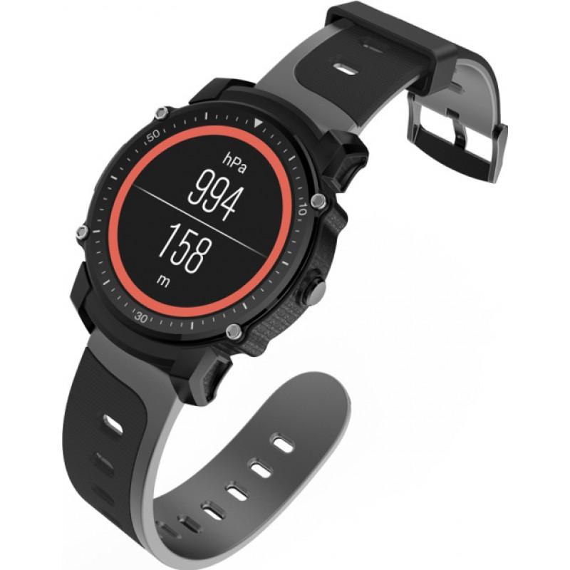 Умные часы King Wear FS08 с GPS модулем и влагозащитой IP68 (Черный)