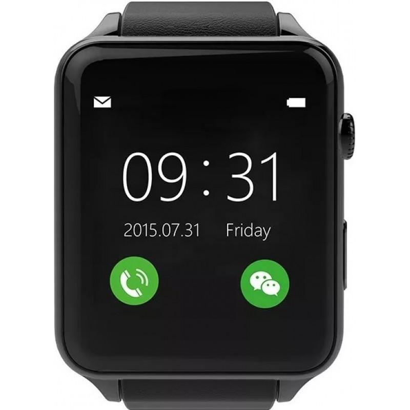 Умные часы King Wear GT88 c SIM картой (Черный)