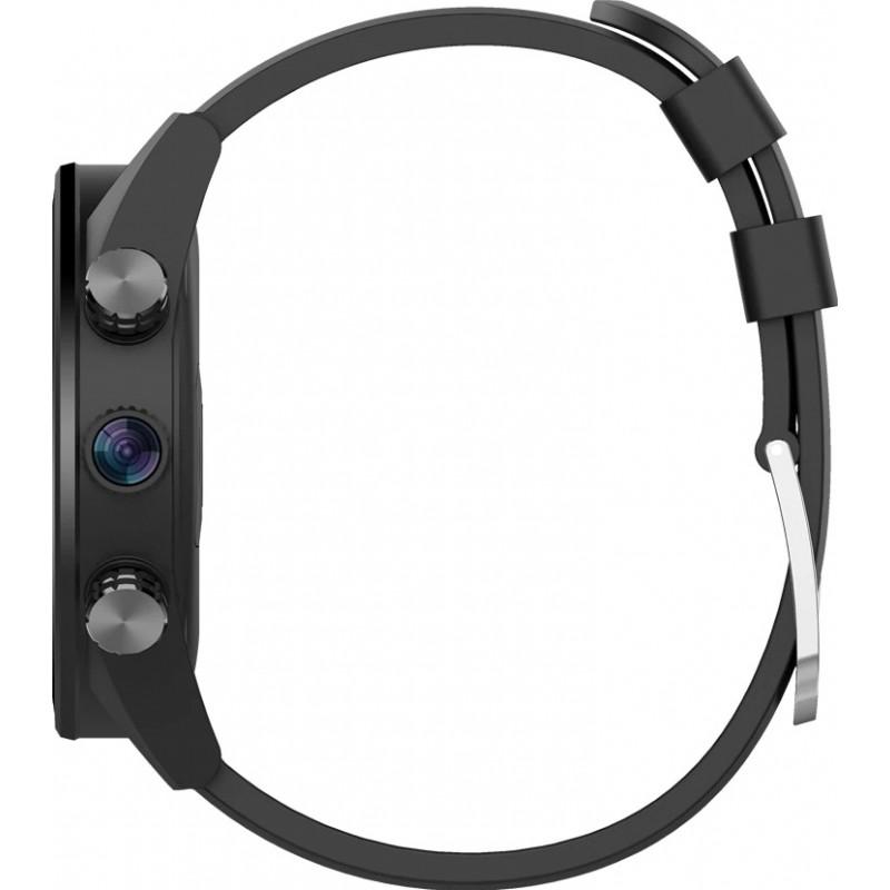 Умные часы King Wear KC05 на Android 7.0 с поддержкой GPS (Черный)