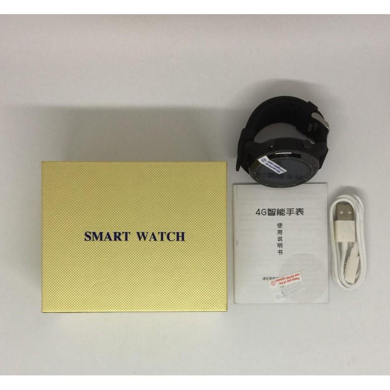 Умные часы King Wear KC06 с поддержкой 4G и встроенным GPS (Черный)