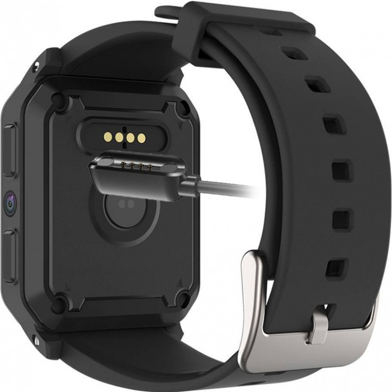 Умные часы King Wear KW06 на Android 5.1 с поддержкой 3G (Черный)
