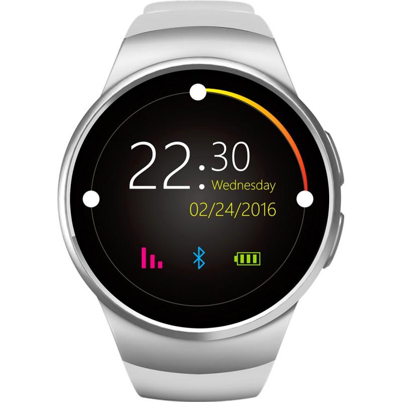 Умные часы King Wear KW18 с поддержкой SIM-карты (Белый)