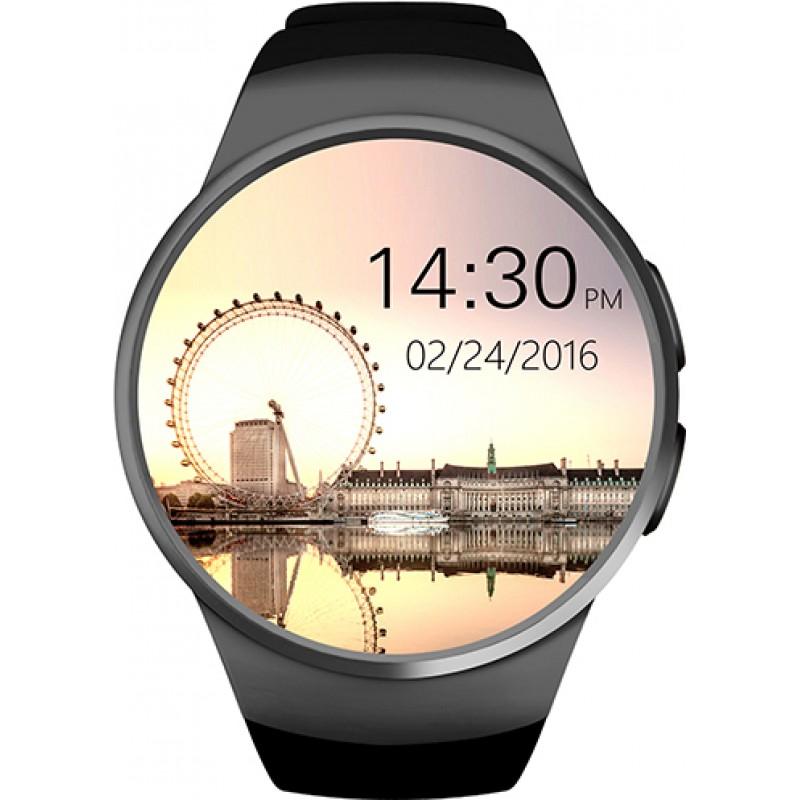 Умные часы King Wear KW18 с поддержкой SIM-карты (Черный)