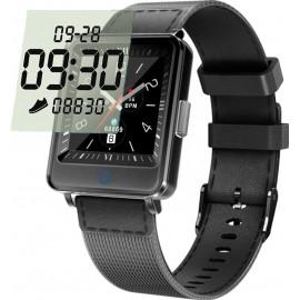 Умные часы Lemfo CV16 с двойным дисплеем (Черный)