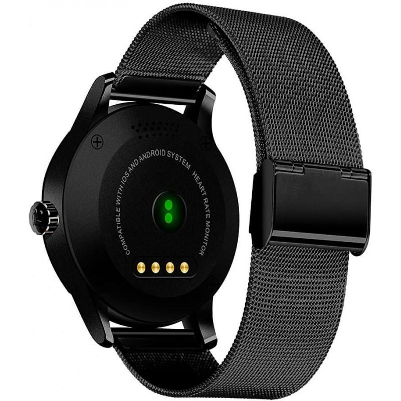 Умные часы Lemfo K88H с пульсометром (Черный)