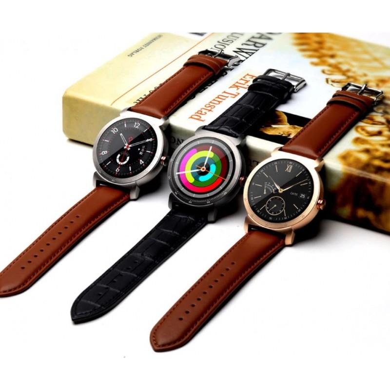 Умные часы Lemfo K88h Plus с сенсорным дисплеем (Черный)