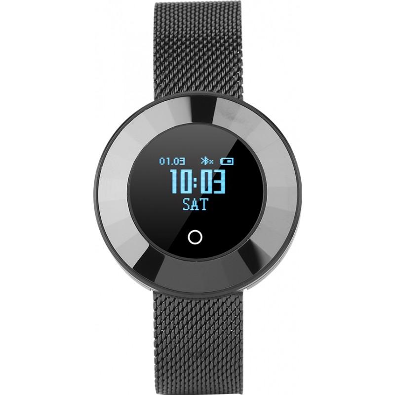 Умные часы Lemfo X6 с пульсометром и тонометром (Черный)