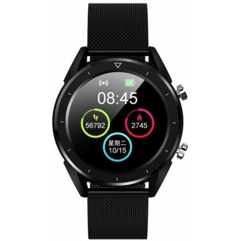 Умные часы No.1 DT28 с ЭКГ и сенсорным дисплеем (Черный)
