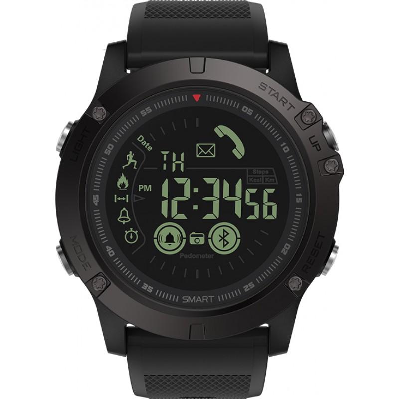 Умные часы Zeblaze VIBE 3 с шагомером и счетчиком калорий (Черный)