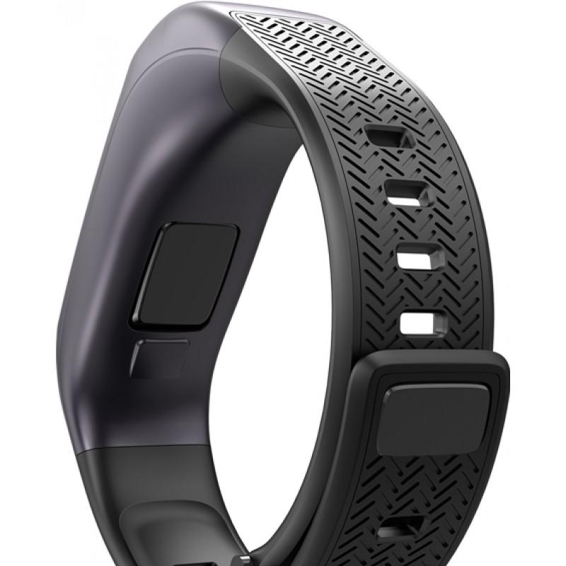 Умный фитнес-браслет и bluetooth гарнитура Goral B03 (Черный)