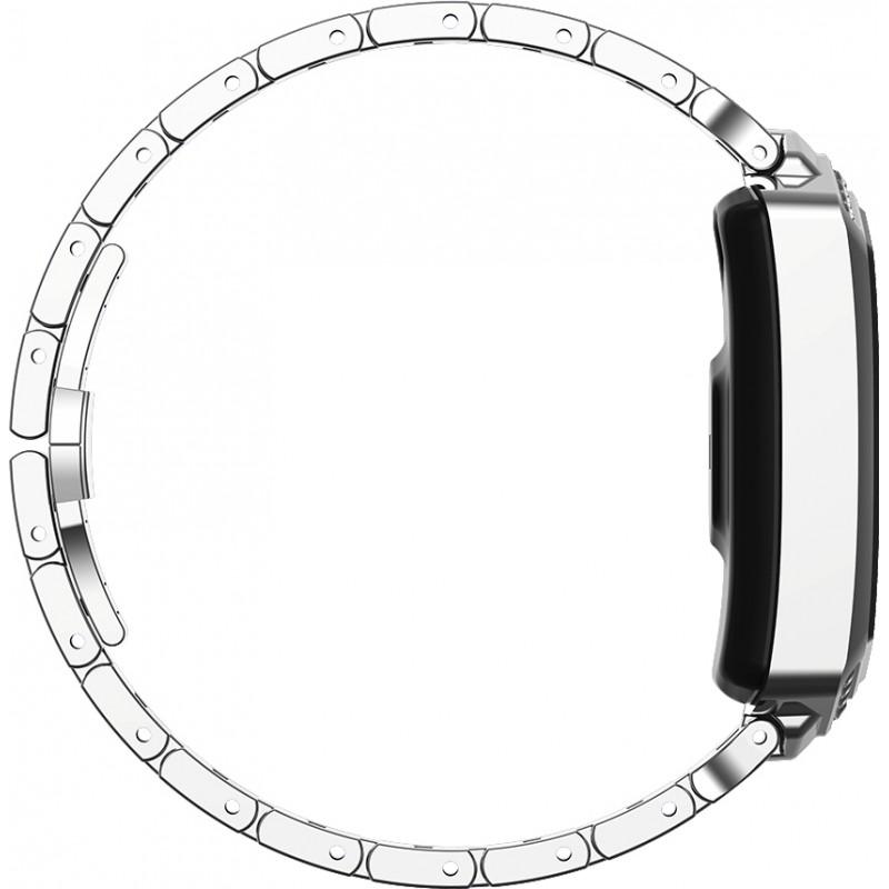 Умный фитнес браслет Finow B78 с цветным дисплеем и тонометром (Серебристый)