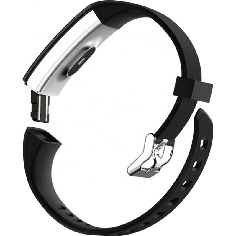 Умный фитнес браслет Lemfo F07 Plus с тонометром и влагозащитой (Черный)