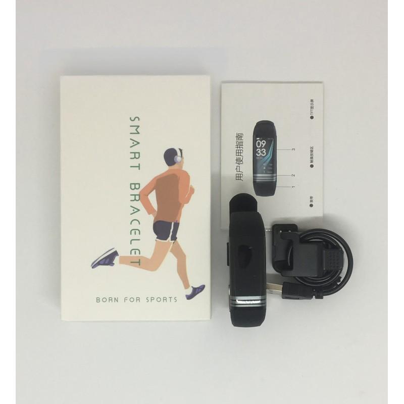 Умный фитнес браслет Lemfo G26S с измерением давления и сатурации крови (Черный)