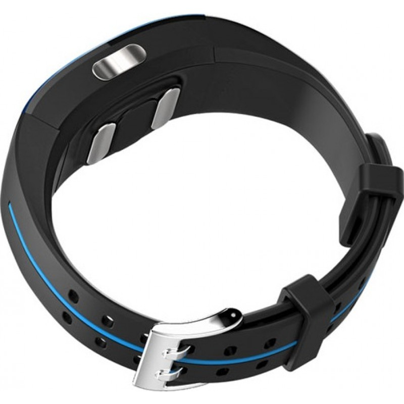 Умный фитнес браслет Lemfo P3 Plus с ЭКГ и тонометром (Синий)
