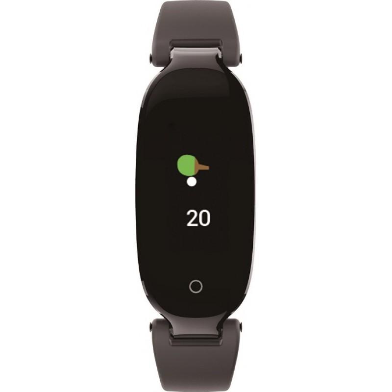 Умный фитнес браслет Lemfo S3 Plus с цветным дисплеем (Черный)