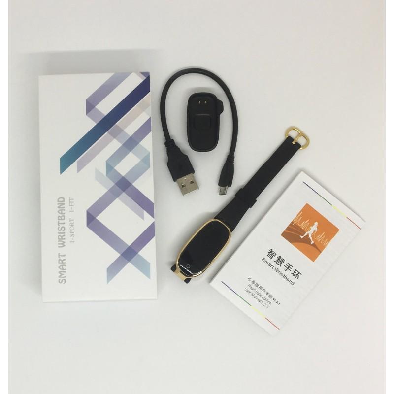 Фитнес-трекер умный браслет Lemfo S3 (Золотой)